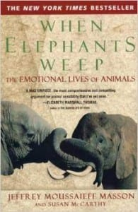 When Elephants Weep book cover