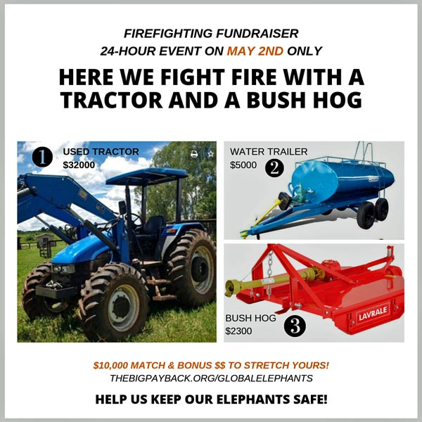 firefighting fundraiser