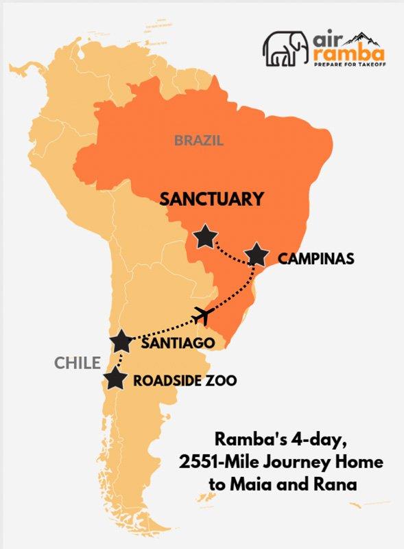 AirRamba Campinas map