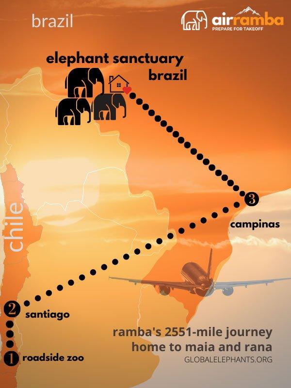 ramba's dotted map
