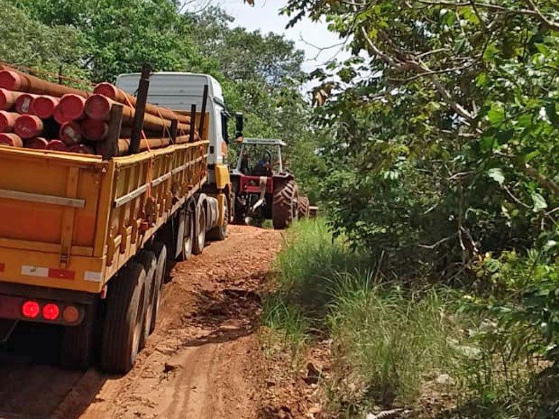 Kenya's 1st load of steel for fences
