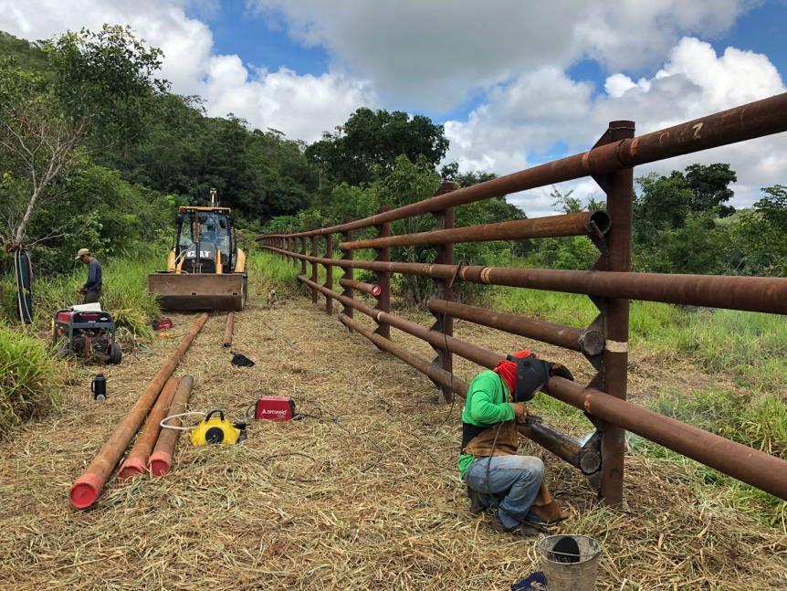 training walls construction