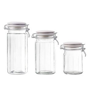 glass cannisters