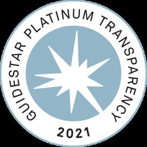 GuideStar 2020 Platinum Seal of Transparency
