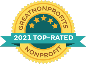 2021 Great Nonprofits: Top-rated